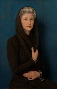 1942 De vrouw van de kunstenaar door Karel van Veen