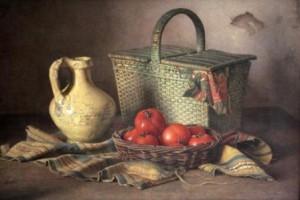 Stilleven door Karel van Veen