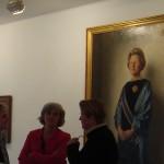 Staatsieportret Juliana op tentoonstelling